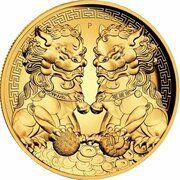 200 Dollars - Elizabeth II (6th Portrait - Double Pixiu) – reverse