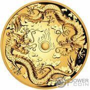 200 Dollars - Elizabeth II (6th Portrait - Double Dragon) – reverse