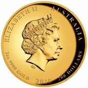 200 Dollars - Elizabeth II (4th Portrait - End of WWI 100th Anniversary) – obverse