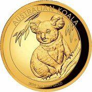 100 Dollars - Elizabeth II (6th Portrait - Koala - Gold Bullion Coin) – reverse