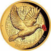 200 Dollars - Elizabeth II (4th Portrait - End of WWI 100th Anniversary) – reverse