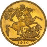 1 Sovereign - Edward VII -  reverse