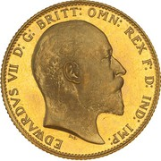 1 Sovereign - Edward VII – obverse