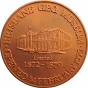Medal - Brisbane Post Office Museum – obverse