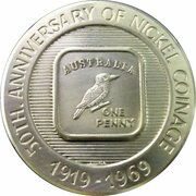 Medal - Anniversary of Nickel Coinage – reverse