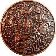 Medal - Australian Wildflowers in Bronze – obverse