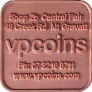 Token - VPCoins - 10% Promotion – obverse