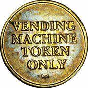 Token - Phillip Morris Vending – reverse