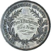 Medal - First Prize (The International Agricultural Society of  Victoria) – reverse