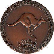Medal - Metropolitan Coin Club of Sydney – obverse