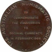 Medal - Conversion to Decimal Currency – reverse