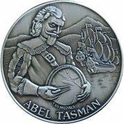 Medal - Abel Tasman (350th Anniversary sighting of Tasmania) – obverse