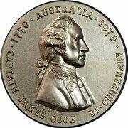 Medal - Captain James Cook Bi-Centenary – obverse