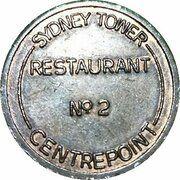 Token - Sydney Tower Restaurant No 2 – obverse