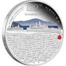 50 Cents - Elizabeth II (ANZAC Spirit 100th Anniversary Coin Series – First Convoy) – reverse