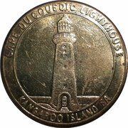 Medal - Souvenir Tourist Coin (Cape Du Couedic Lighthouse SA) – obverse