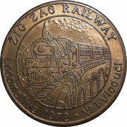 Medal - Souvenir Tourist Coin (Blue Mountains Zig Zag Railway NSW) – obverse