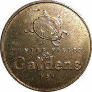 Medal - Souvenir Tourist Coin (Hunter Valley Gardens NSW) – obverse