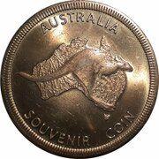 Medal - Australia Tourist Coin (Symbio Wildlife Park NSW) – reverse