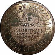 Medal - Australia Tourist Coin (Stockman's Hall of Fame QLD) – obverse