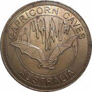 Medal - Australia Tourist Coin (Capricorn Caves QLD) – obverse
