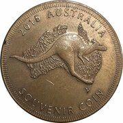 Medal - Australia Tourist Coin (Capricorn Caves QLD) – reverse