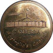 Medal - Souvenir Tourist Coin (Canberra Australia's Capital ACT) – obverse