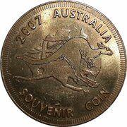 Medal - Souvenir Tourist Coin (Canberra Australia's Capital ACT) – reverse