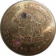 Medal - Souvenir Tourist Coin (The Big Merino NSW) – obverse