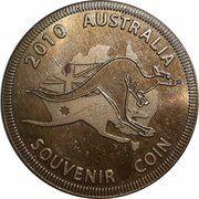 Medal - Souvenir Tourist Coin (The Big Merino NSW) – reverse