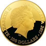 100 Dollars - Elizabeth II (Celestial Dome - Northern Sky) -  obverse