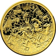 100 Dollars - Elizabeth II (Celestial Dome - Northern Sky) -  reverse