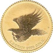 2 Dollars - Elizabeth II (Australian Wedge-tailed Eagle) -  reverse