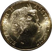 1 Dollar - Elizabeth II (Possum Magic - Hush Visible Forever) -  obverse