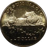 1 Dollar - Elizabeth II (Possum Magic - Lamingtons are Magical) -  reverse