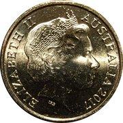 2 Dollars - Elizabeth II (Possum Magic - Hush Can See Her Tail Again) -  obverse