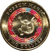 2 Dollars - Elizabeth II (4th Portrait - Possum Magic - Happy Hush) -  reverse