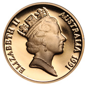 2 Cents - Elizabeth II (3rd portrait) – obverse