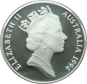 5 Dollars - Elizabeth II (Charles Sturt) -  obverse