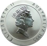10 Dollars - Elizabeth II (3rd Portrait - Murray Rose - Frosted Proof) -  obverse