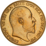 5 Pounds - Edward VII (Coronation) -  obverse