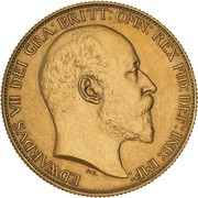 2 Pounds - Edward VII (Coronation) -  obverse