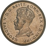 1 Florin - George V (Opening of (Old) Parliament House) – obverse