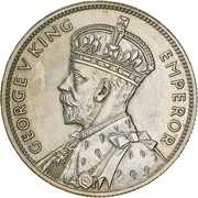 1 Florin - George V (Victoria and Melbourne Centenary) -  obverse