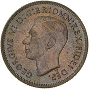 1 Florin - George VI (50 Years of Federation) -  obverse