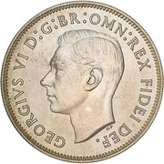 1 Florin - George VI (50 Years of Federation; Pattern) -  obverse
