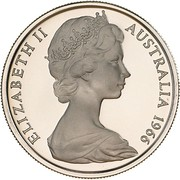 10 Cents - Elizabeth II (2nd portrait) – obverse