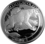 1 Dollar - Elizabeth II (Megafauna - Thylacoleo) -  reverse