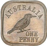 1 Penny - George V (Kookaburra Pattern - Type 7) -  reverse
