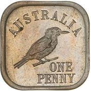 1 Penny - George V (Kookaburra Pattern - Type 10) – reverse